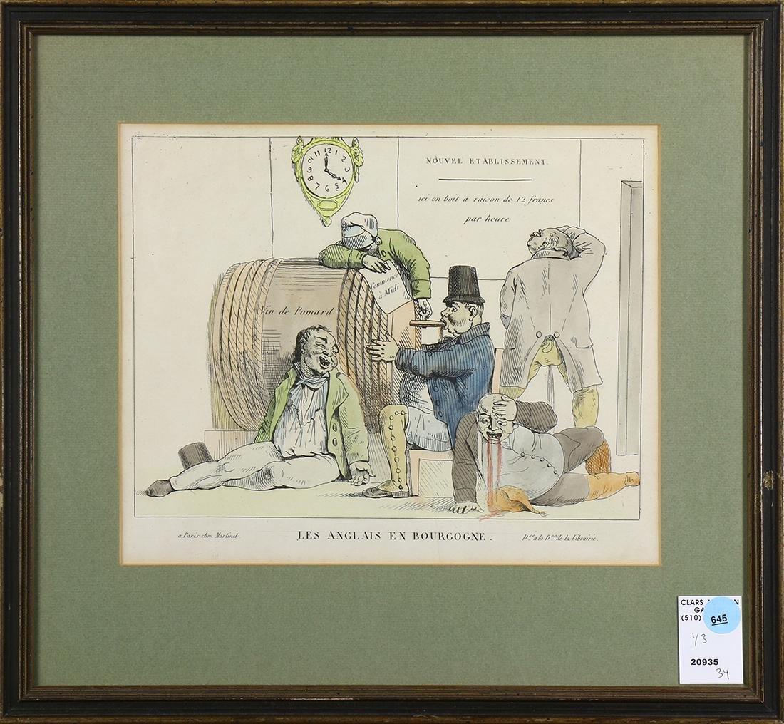 Prints, Grande Distribution de Vin, A Vintage, and Les