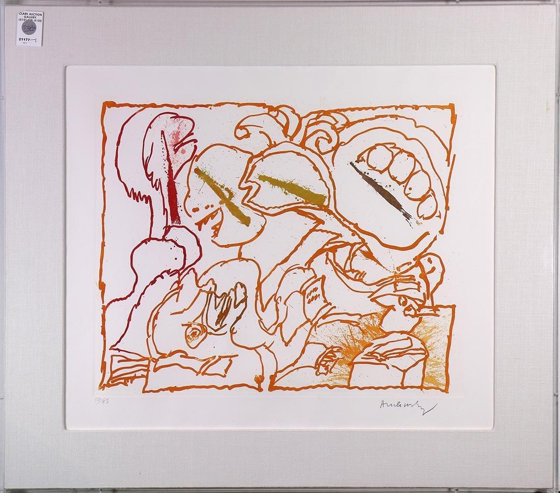 Print, Pierre Alechinsky