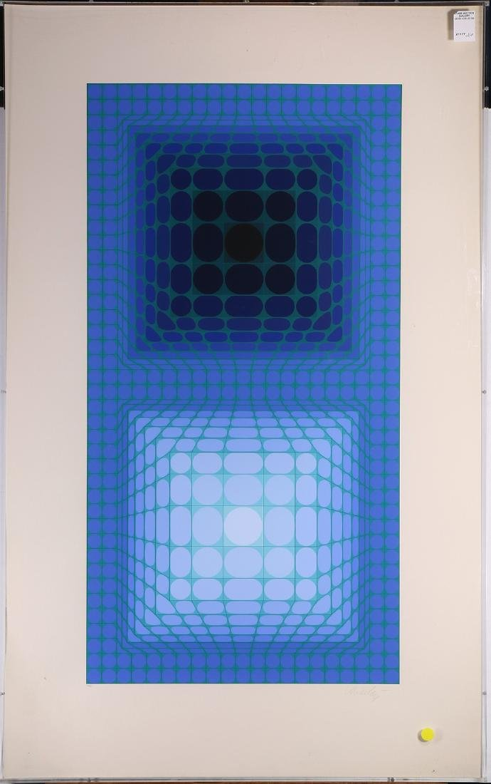 Print, Victor Vasarely