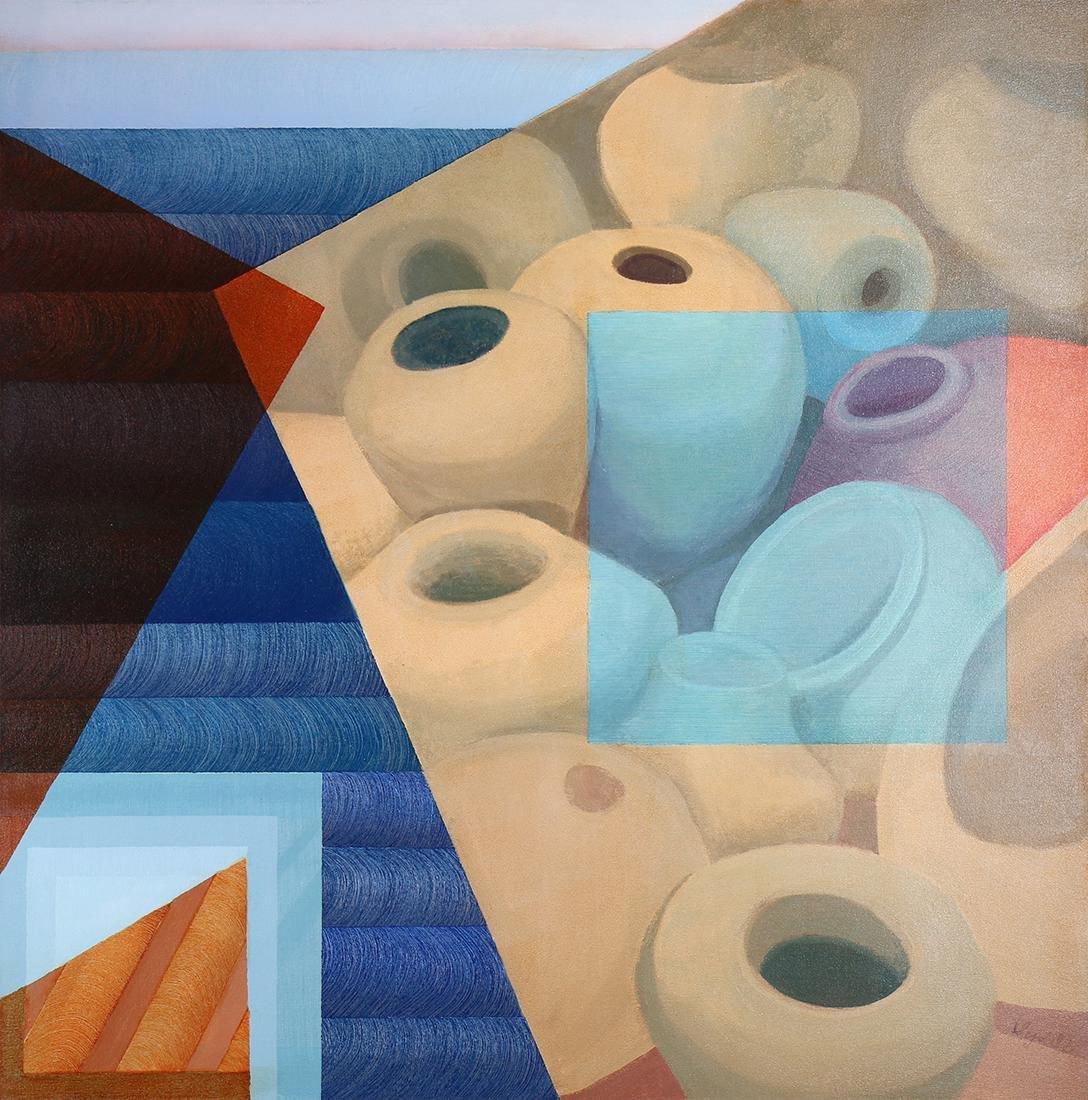 Paintings, Sydell Gelber Lewis Straub
