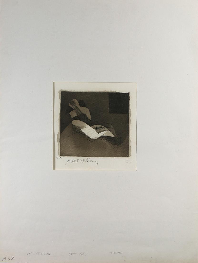 Print, Jacques Villon