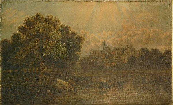 4001: painting landscape European