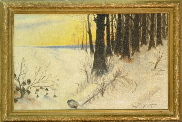 4005: painting European landscape