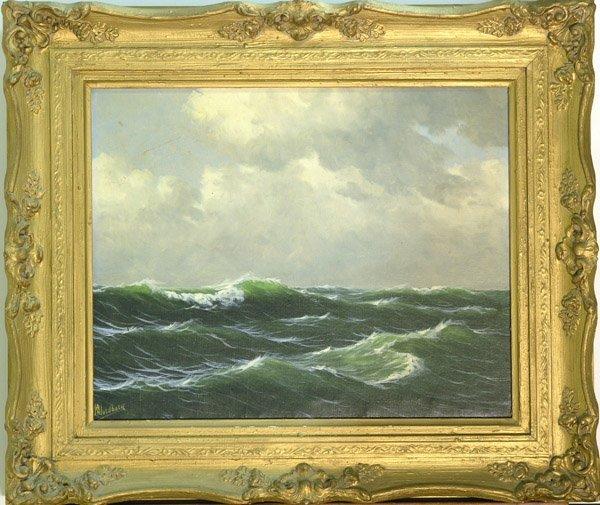 4006: painting European seascape
