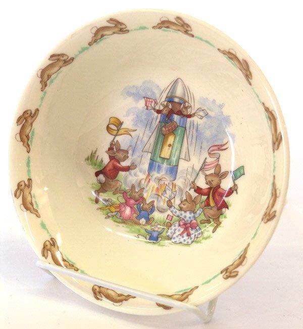 4018: Royal Doulton ''Bunnykins'' childs bowl