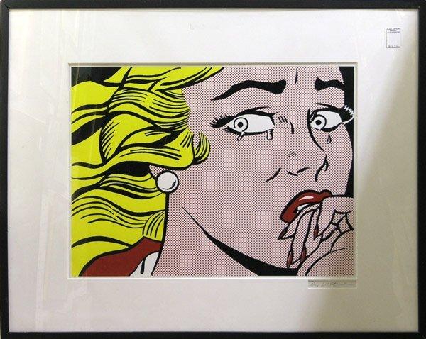 4333: poster museum exhibition Lichtenstein