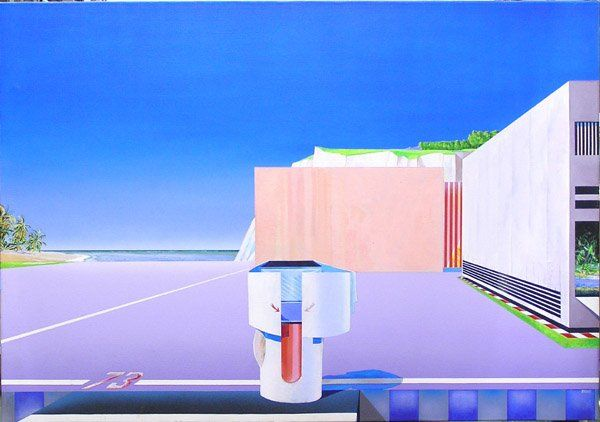 4364: painting Radko landscape surreal