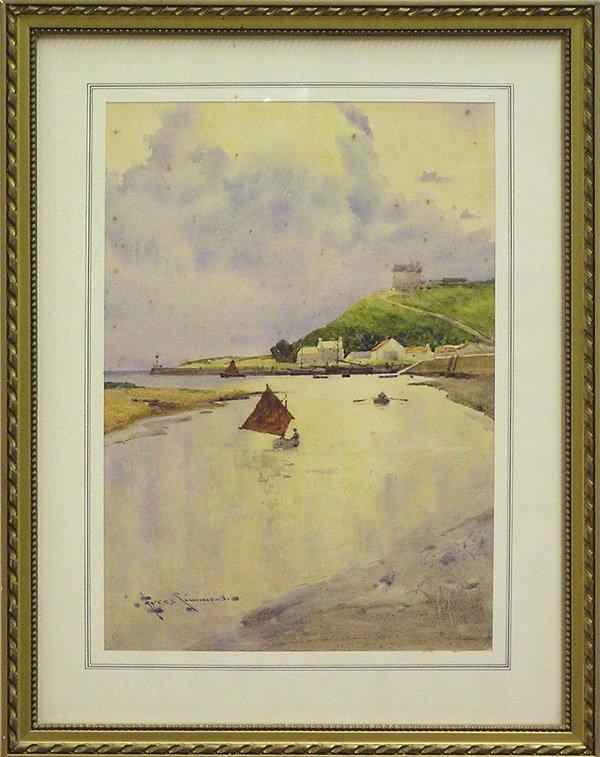 6007: Watercolor European Landscapes Coastal