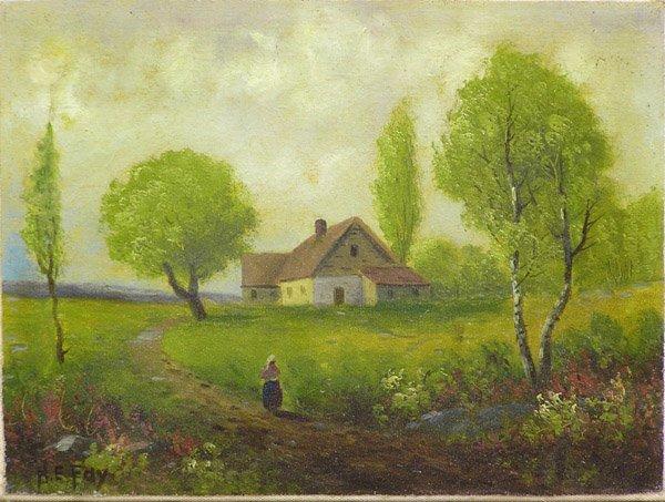6012: Painting Landscape H.E. Fay
