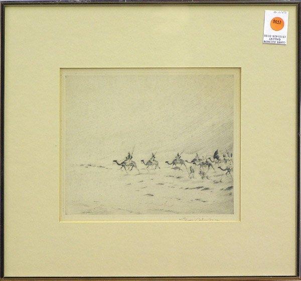 6013: Etching Desert Camel