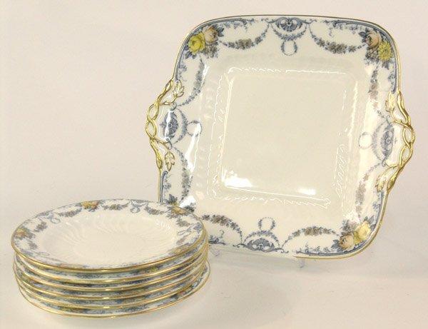 6018: Wedgwood porcelain dessert set