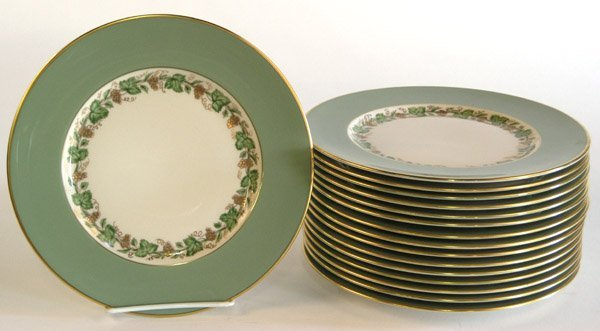 6022: Franciscan salad plates, Concord