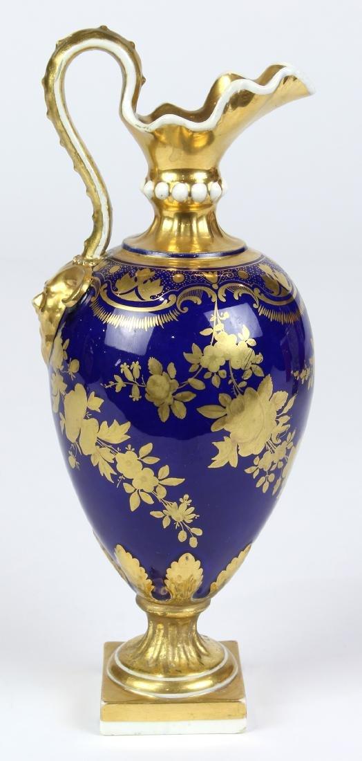 (Lot of 2) English porcelain group