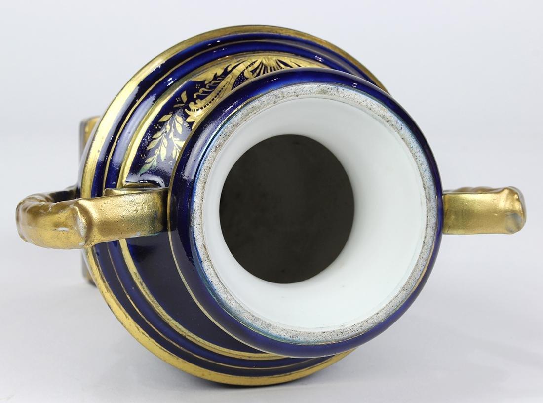 (Lot of 2) English porcelain group - 9