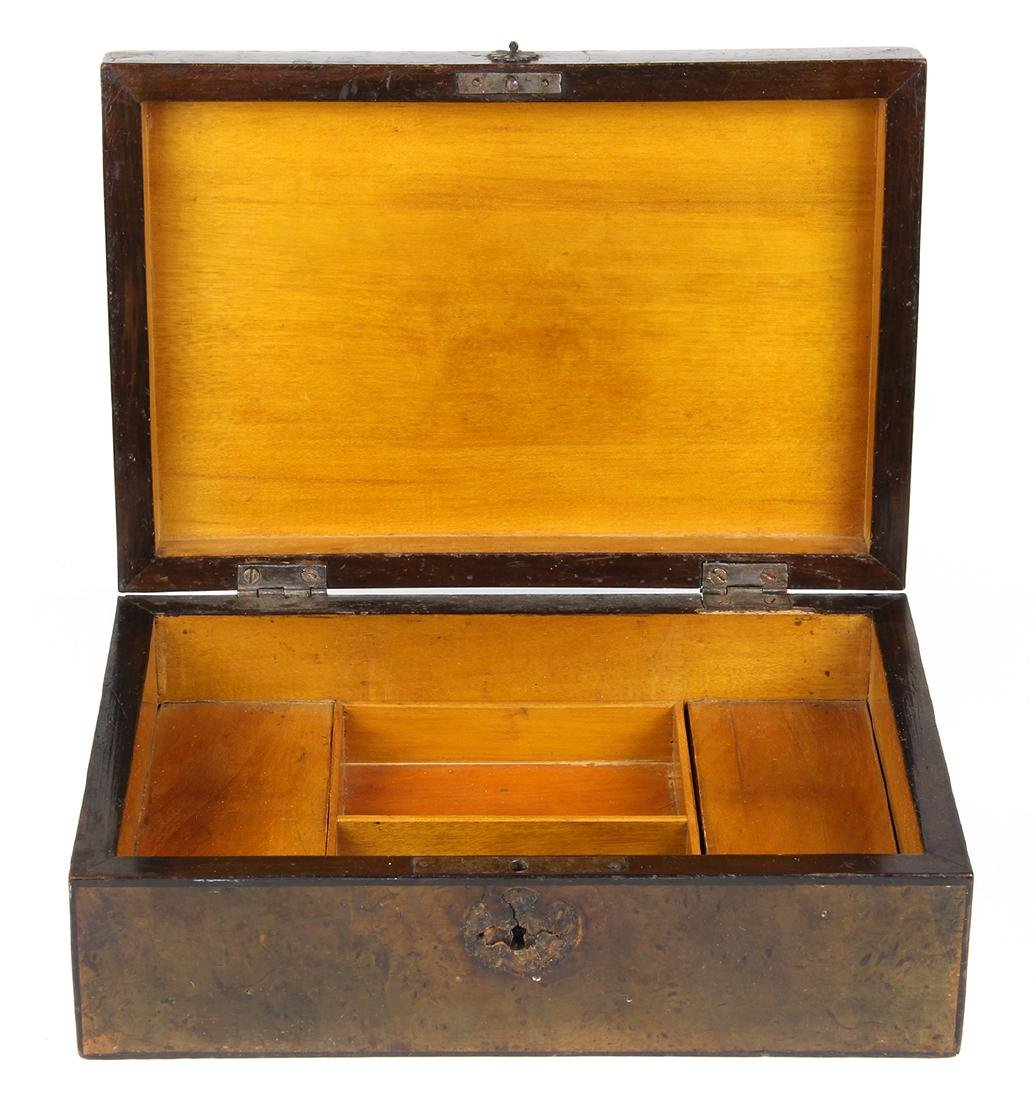 Continental inlaid fitted box - 4