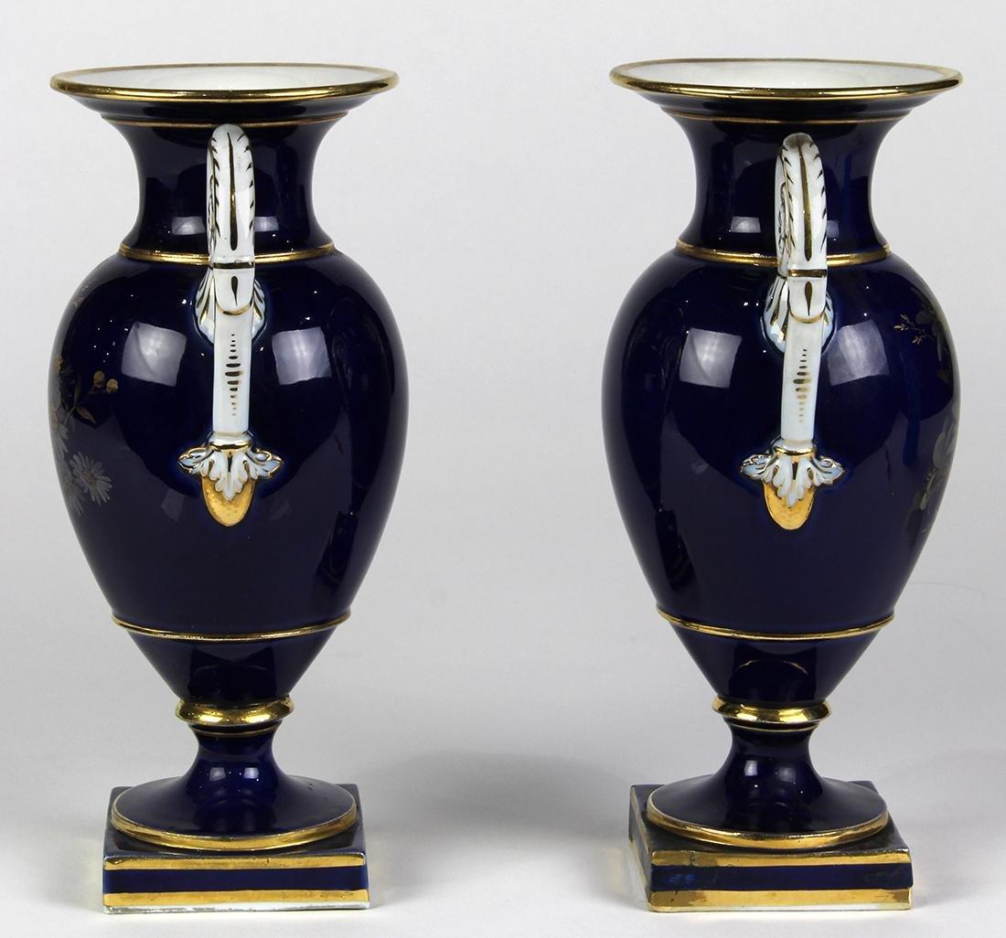 (lot of 2) Meissen porcelain urns - 3