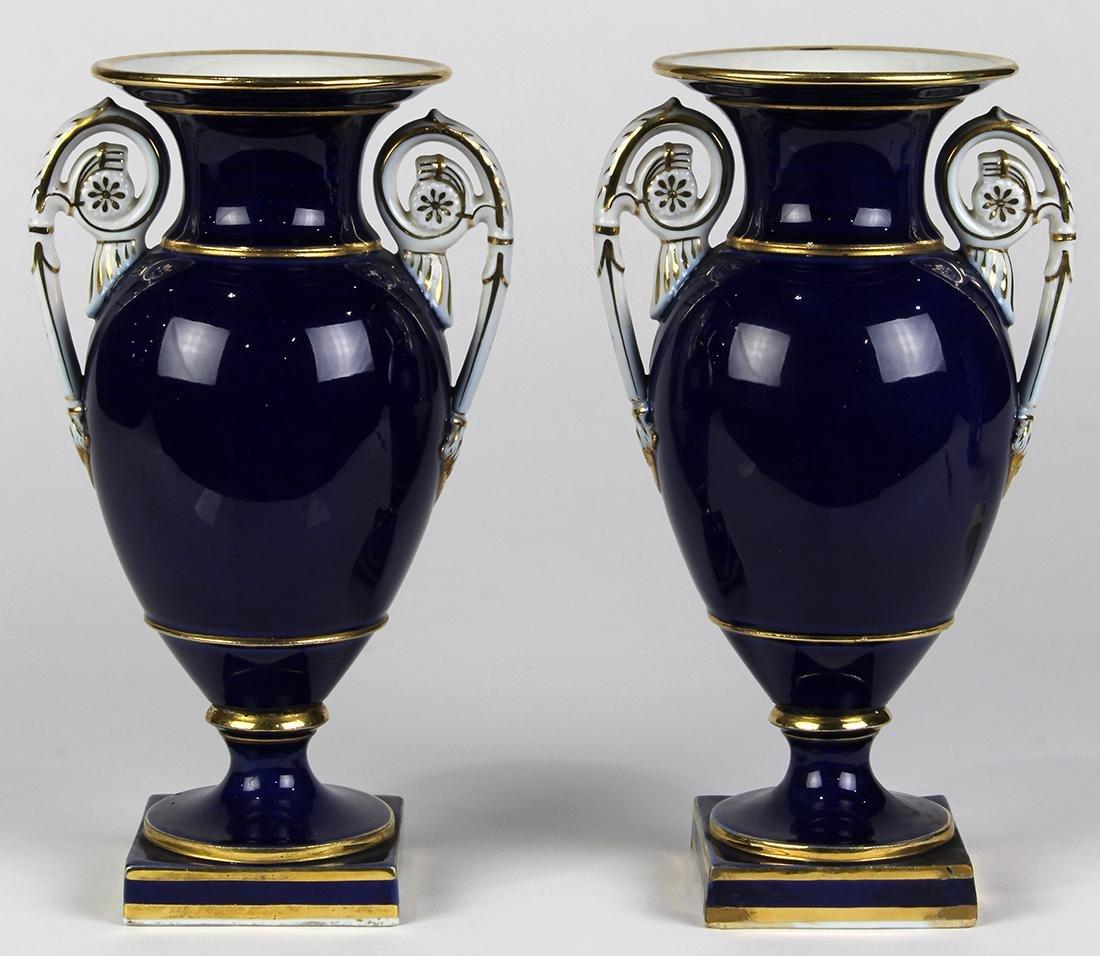 (lot of 2) Meissen porcelain urns - 4
