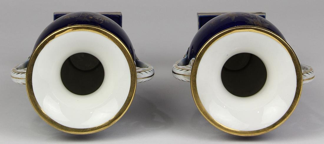 (lot of 2) Meissen porcelain urns - 5