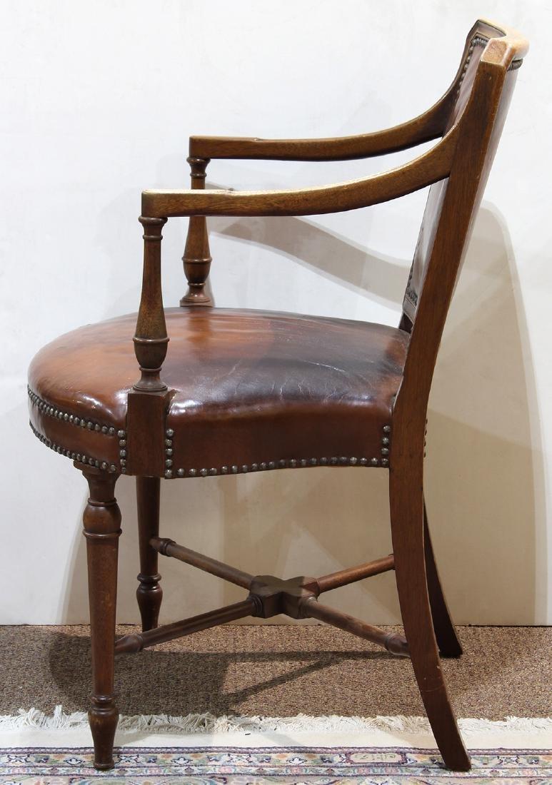 English mahogany armchair - 2