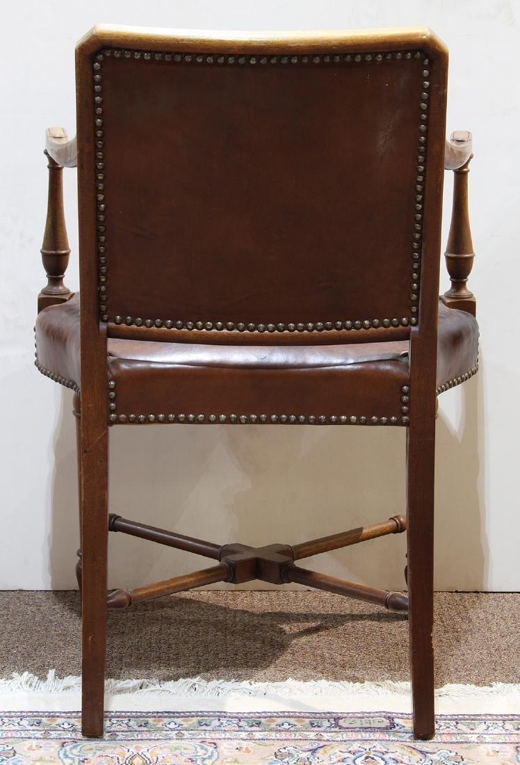 English mahogany armchair - 3