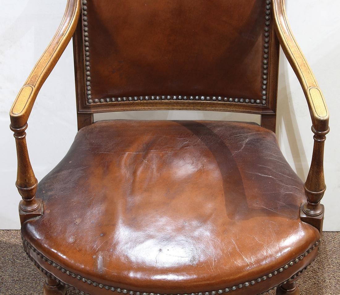 English mahogany armchair - 4