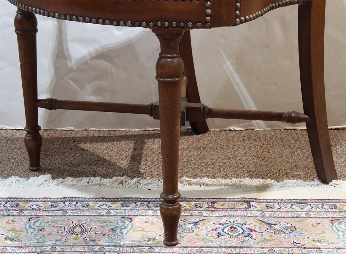 English mahogany armchair - 5