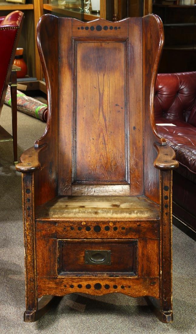 Early English Lambing chair