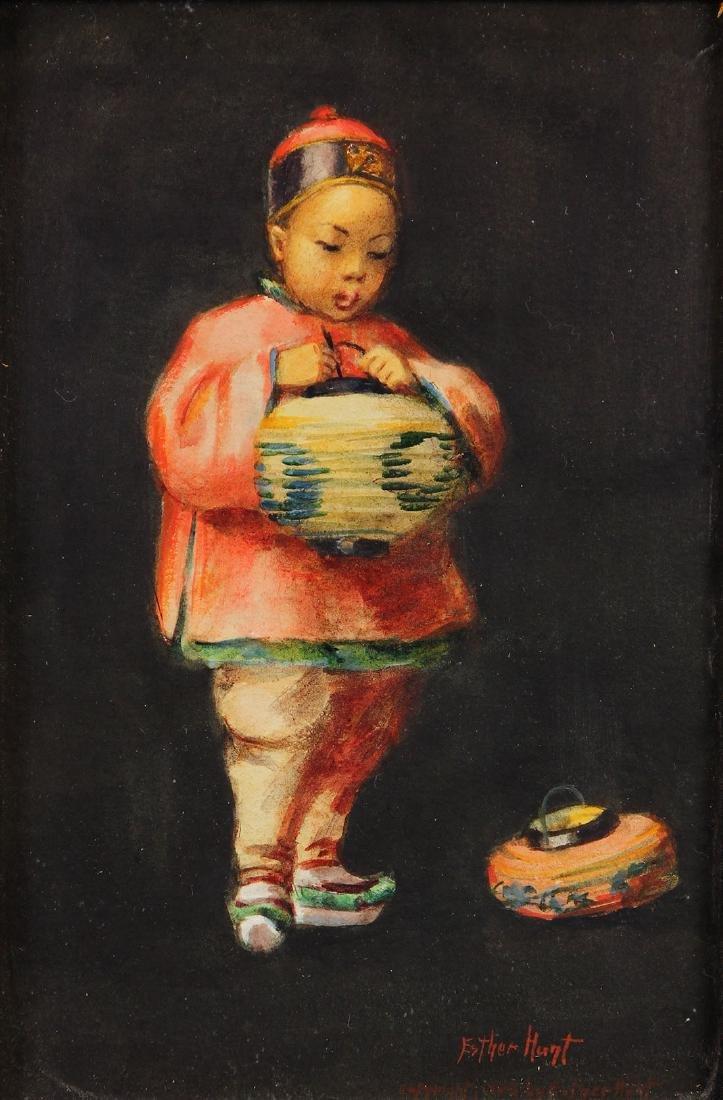 Watercolor, Esther Hunt