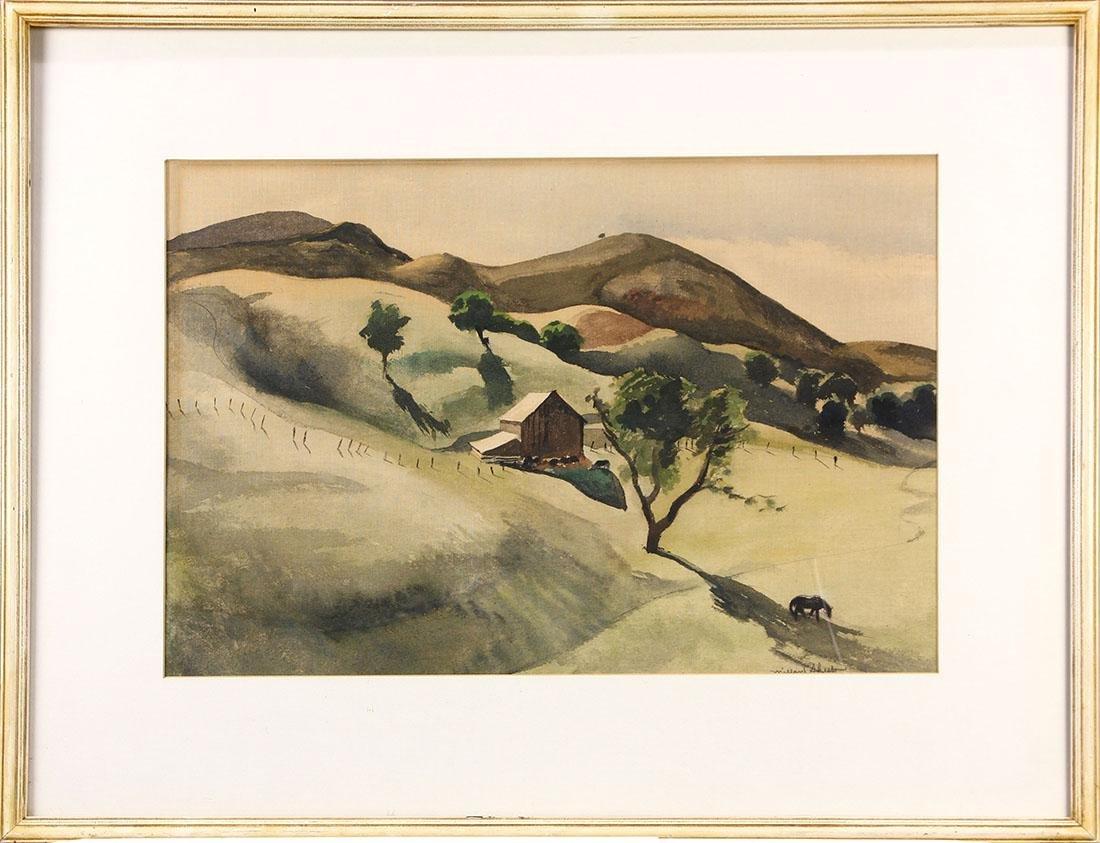 Watercolor, Millard Sheets - 2