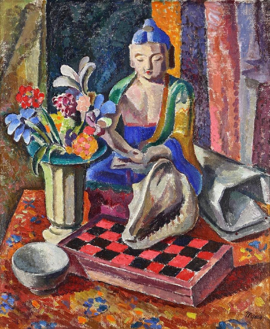 Painting, Frank Harmon Myers