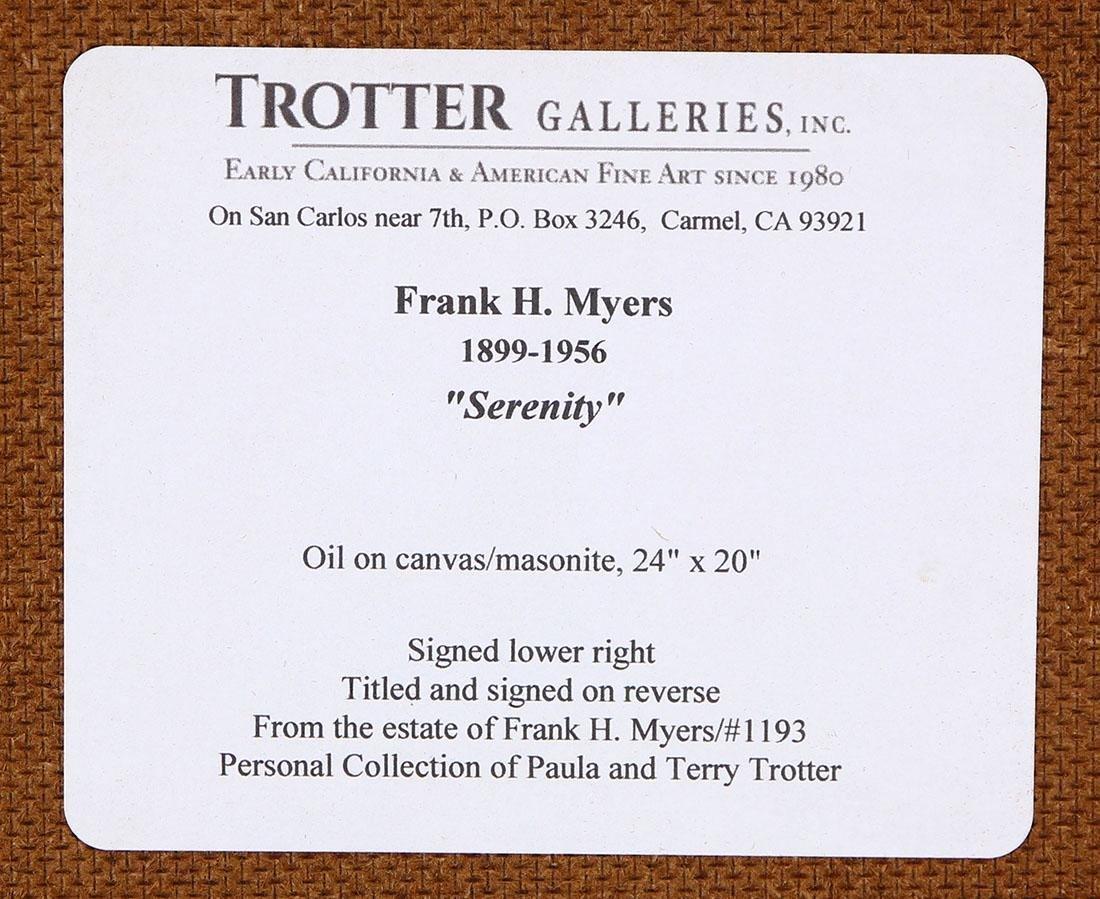 Painting, Frank Harmon Myers - 5