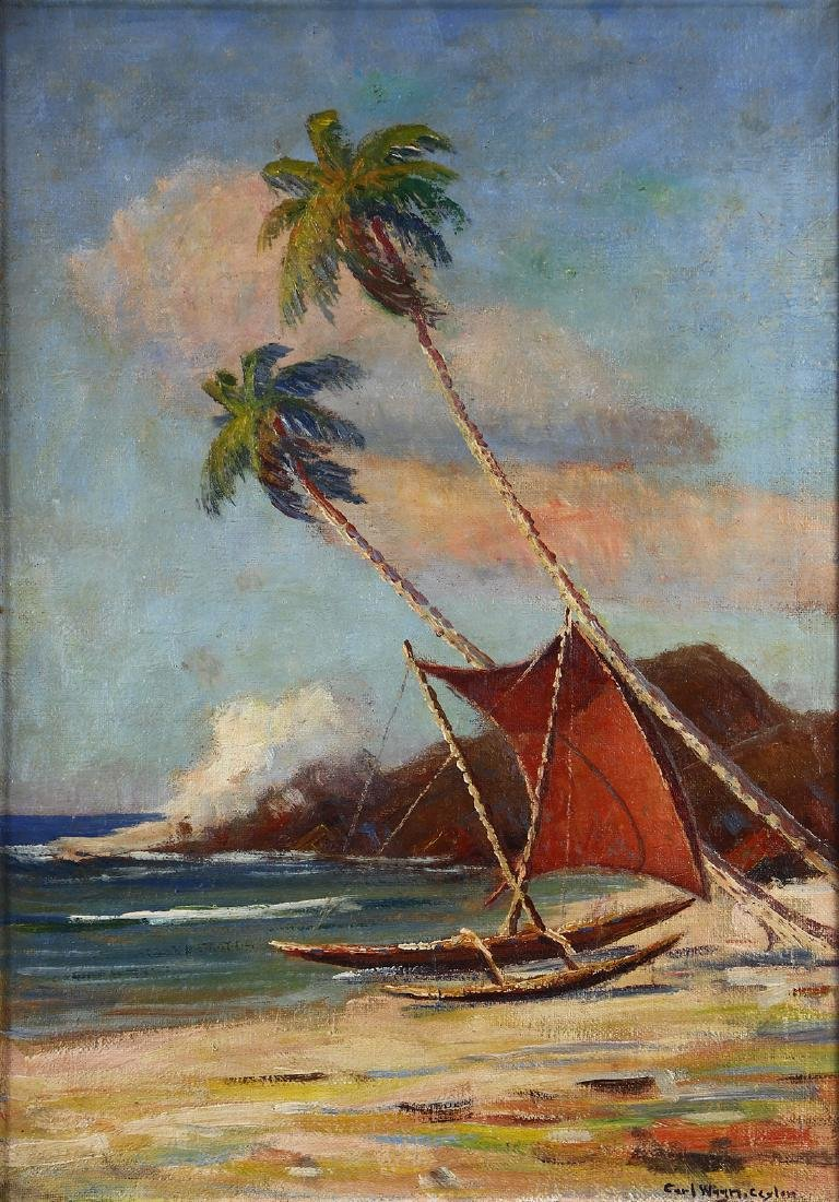 Painting, Carl Wagn