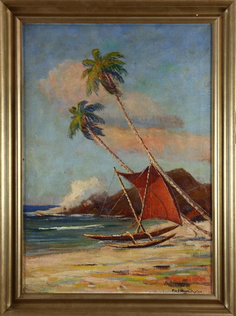 Painting, Carl Wagn - 2