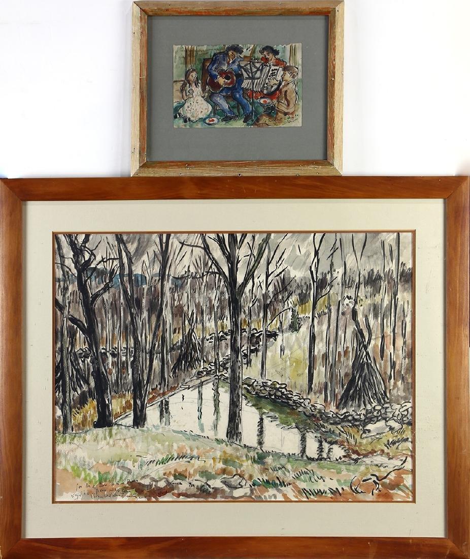 Watercolors, Waldo Pierce
