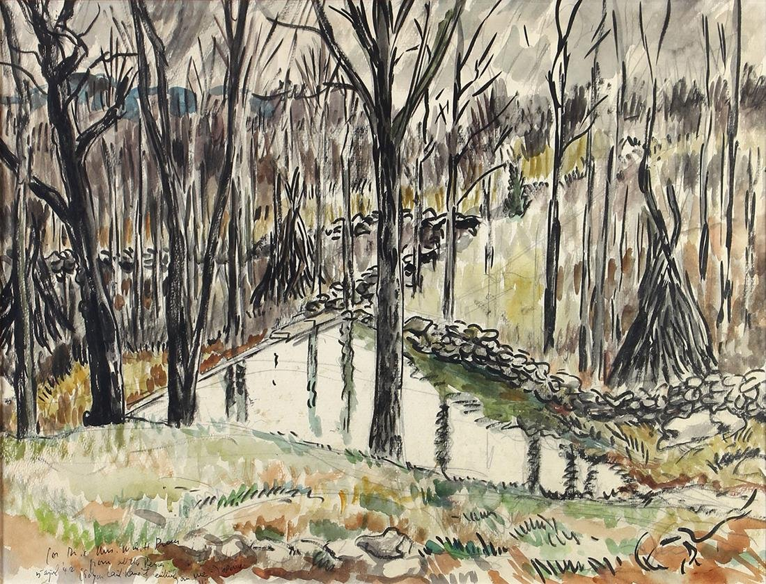 Watercolors, Waldo Pierce - 2