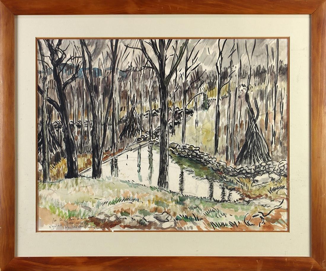 Watercolors, Waldo Pierce - 3