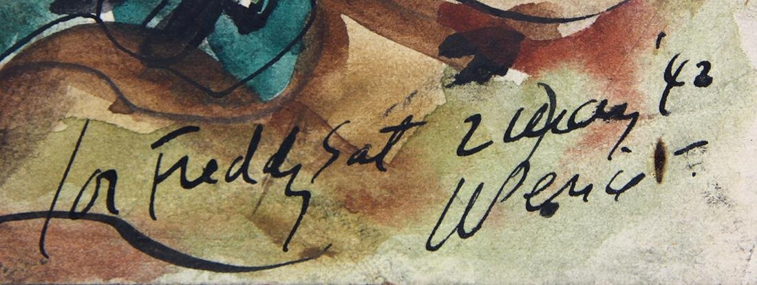 Watercolors, Waldo Pierce - 9