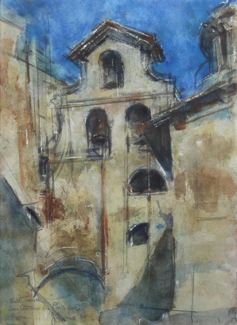 Watercolor, Jack Levine