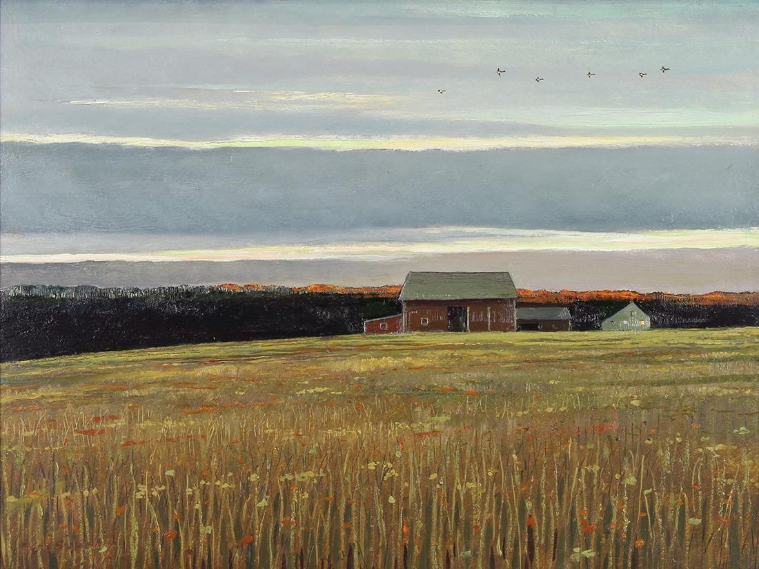 Painting, Eric Sloane