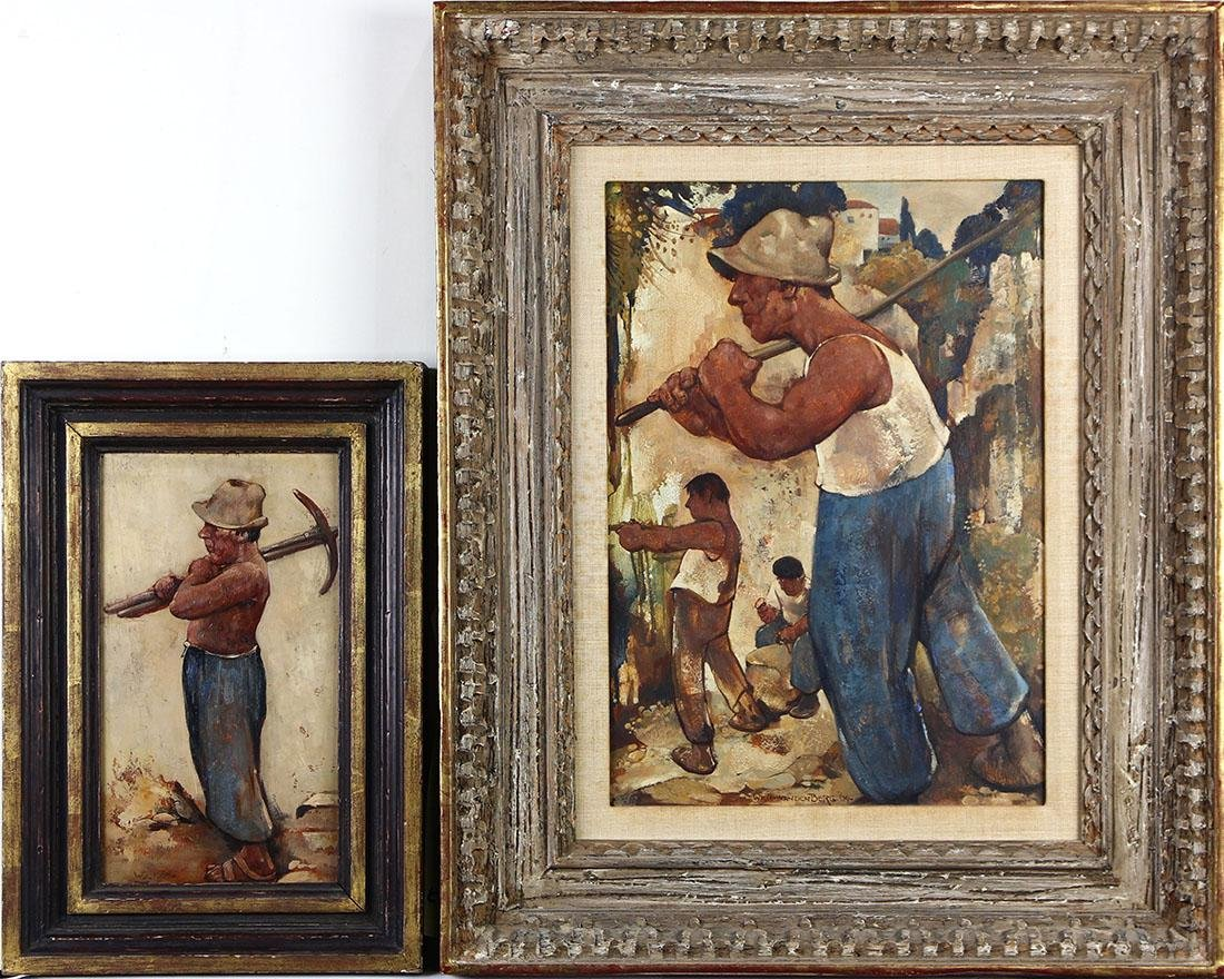 Paintings, Willem Van Den Berg