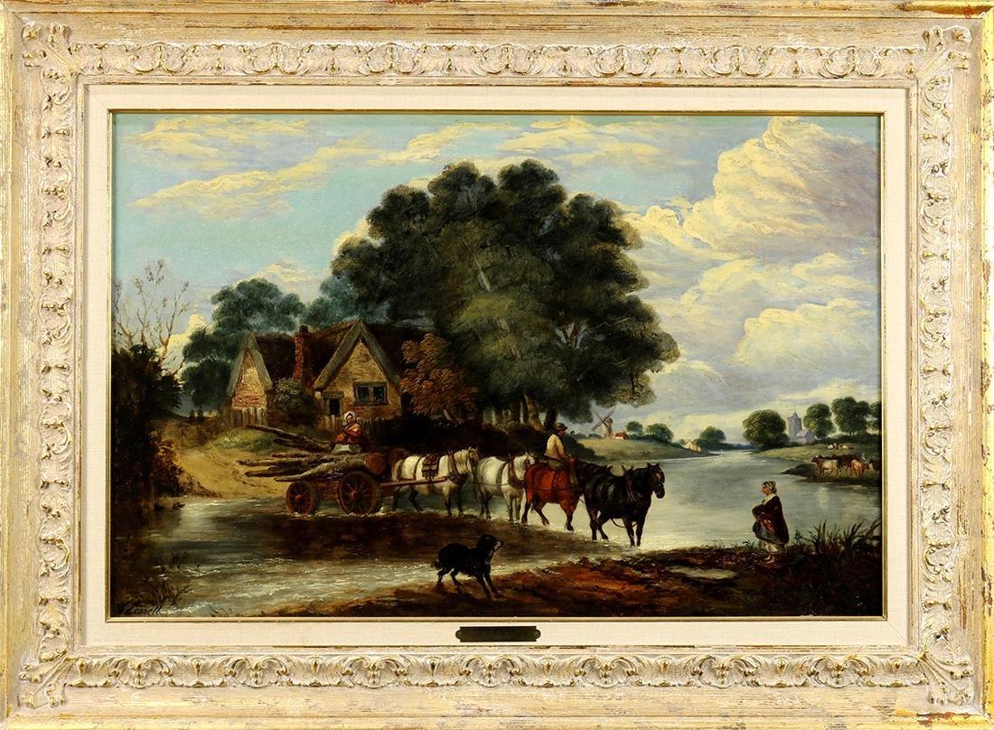 Painting, John Linnell - 2
