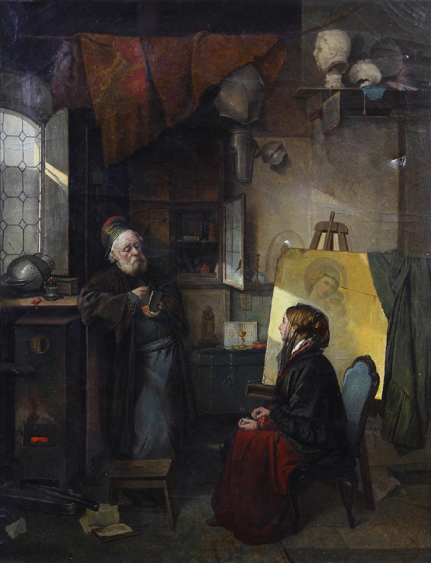 Painting, After Domenico Induno