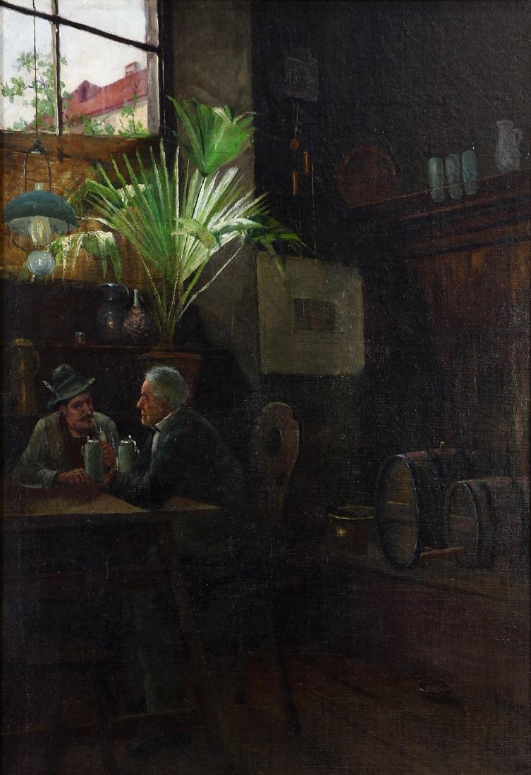 Painting, Emile Emil Meyer