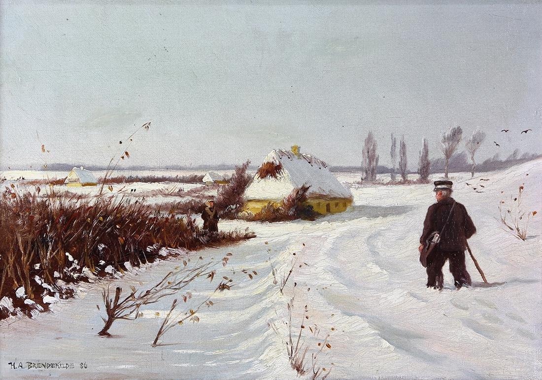 Painting, Hans Andersen Brendekilde