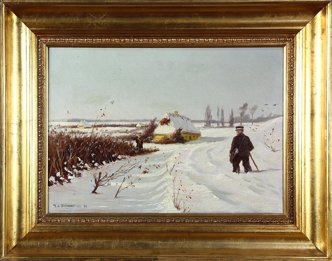 Painting, Hans Andersen Brendekilde - 2