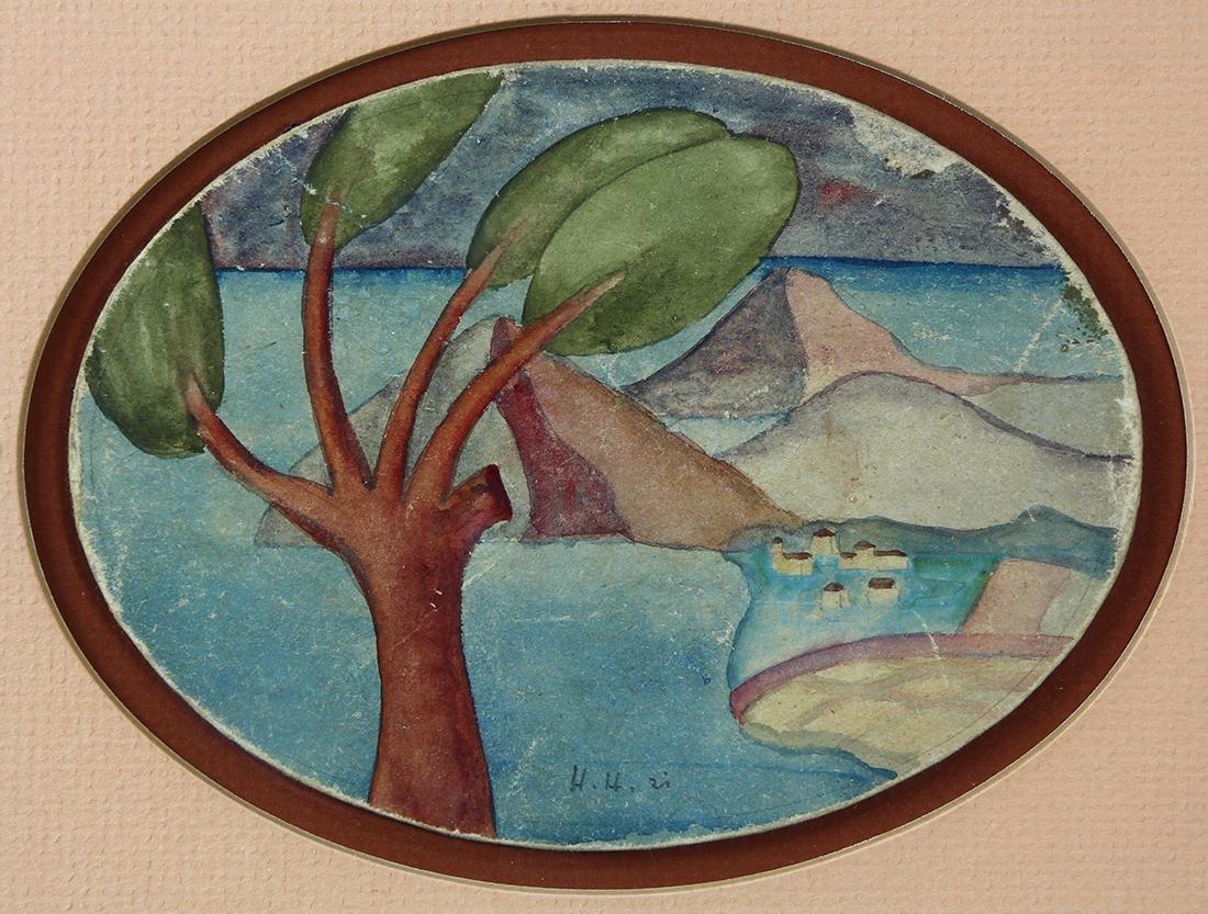 Watercolor, Herman Hesse