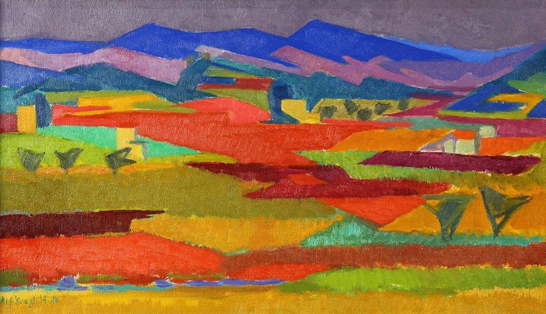 Painting, Alf Krogh Holt