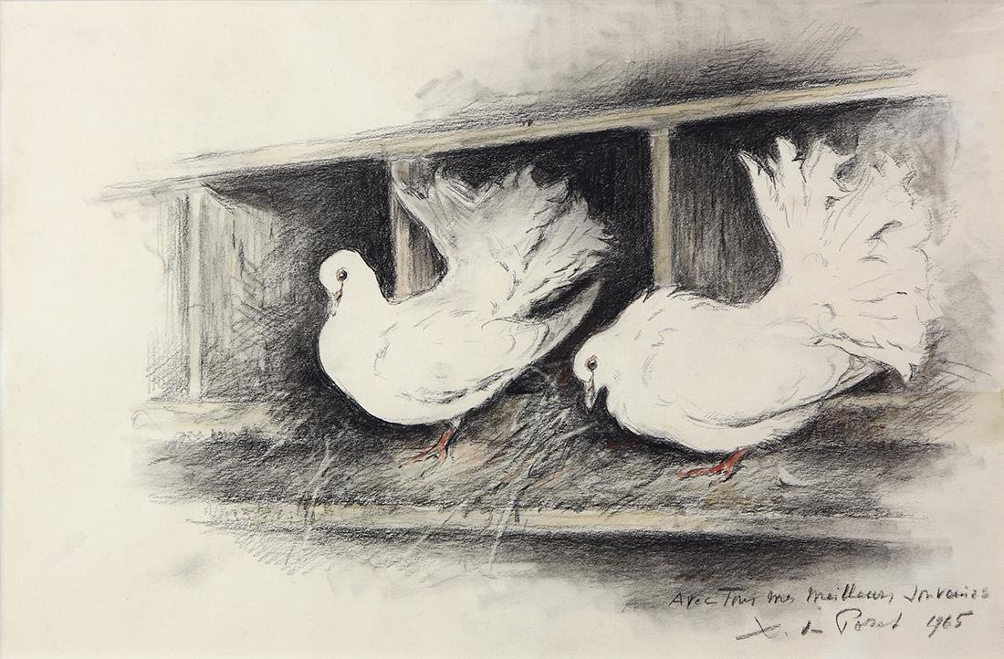 Work on Paper, Xavier de Poret