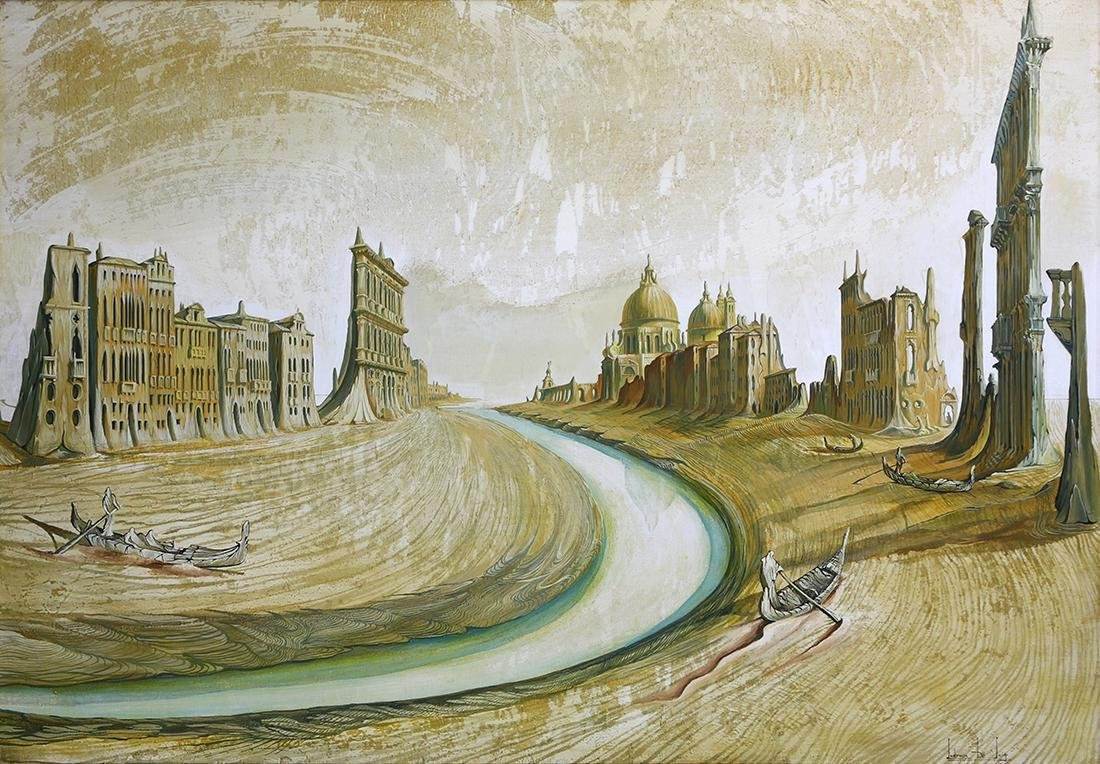 Painting, Ludovico de Luigi