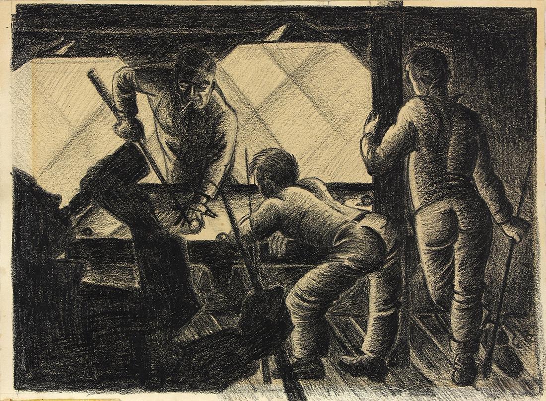 Drawing, Elmer Bischoff